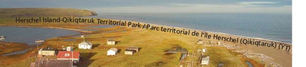 Herschel Island-Qikiqtaruk Territorial Park Microprint