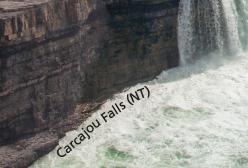Carcajou Falls Microprint