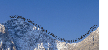 Kootenay National Park Microprint