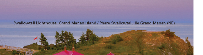 Swallowtail Lighthouse Grand Manan Island Microprint