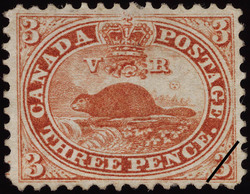 Beaver Canada Postage Stamp