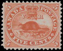 Beaver Canada Postage Stamp