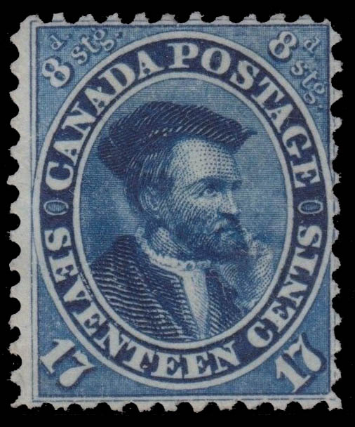 Jacques Cartier Canada Postage Stamp