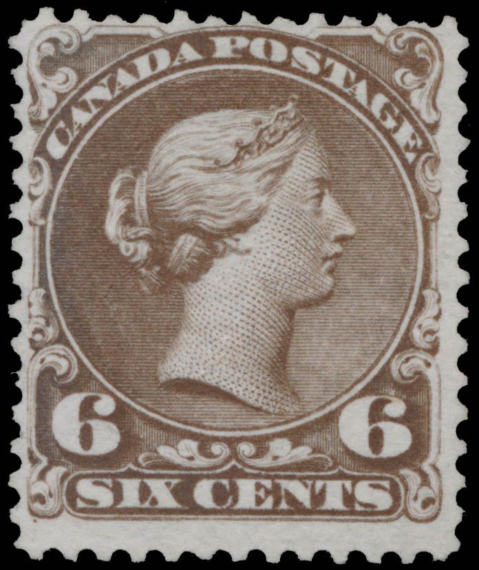 Queen Victoria Canada Postage Stamp