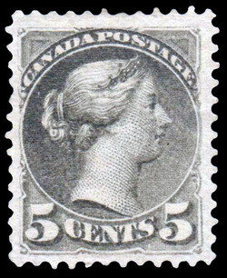 Queen Victoria Canada Postage Stamp