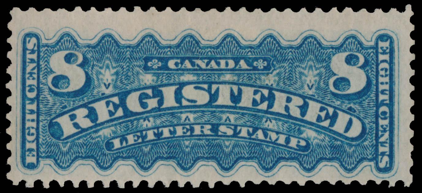 Registered letter stamp Canada Postage Stamp