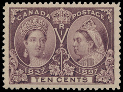 Queen Victoria Canada Postage Stamp | Jubilee issue