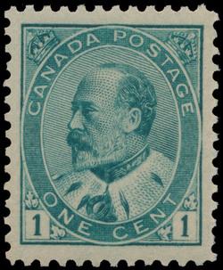 King Edward VII  Postage Stamp