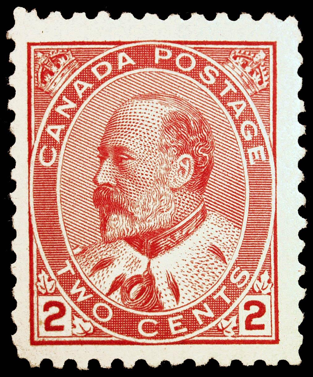 King Edward VII Canada Postage Stamp