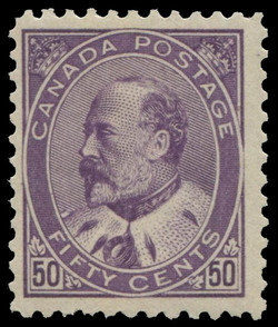 King Edward VII Canada Postage Stamp