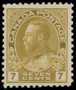 King George V Canada Postage Stamp