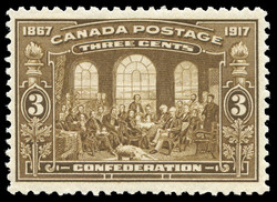 Confederation, 1867-1917 Canada Postage Stamp