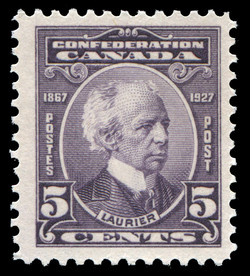Laurier Canada Postage Stamp | Confederation, 1867-1927