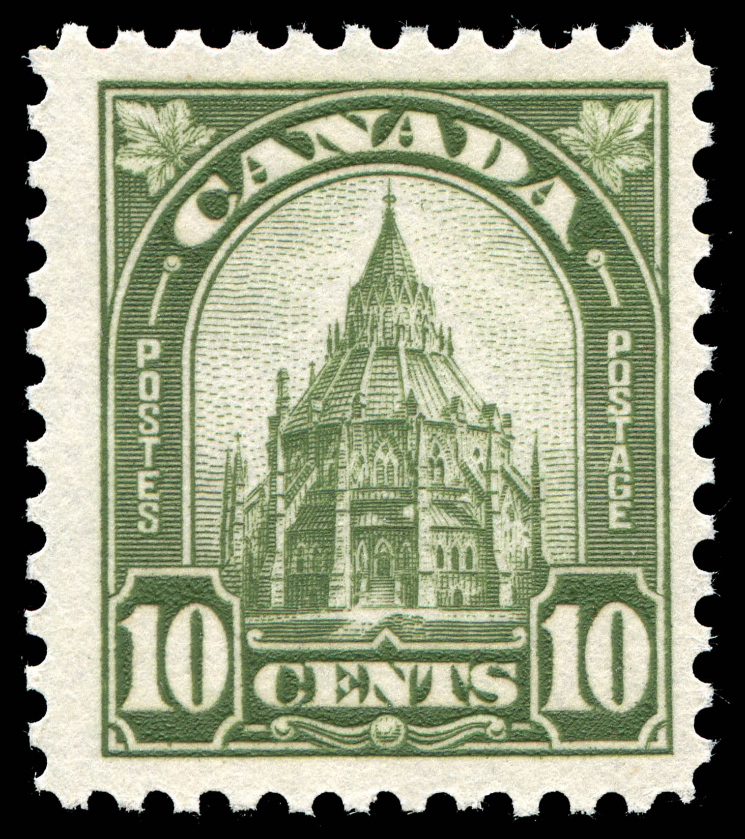 Library of Parliament Canada Postage Stamp