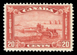 Harvesting Canada Postage Stamp