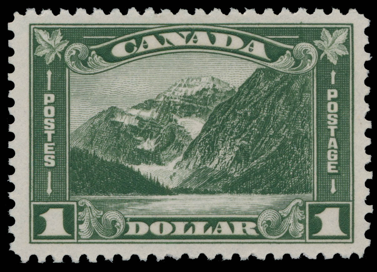 Mount Edith Cavell Canada Postage Stamp