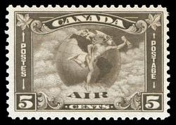 Mercury, Air Canada Postage Stamp