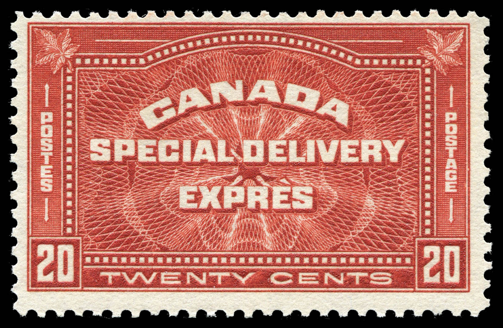 Special Delivery Canada Postage Stamp