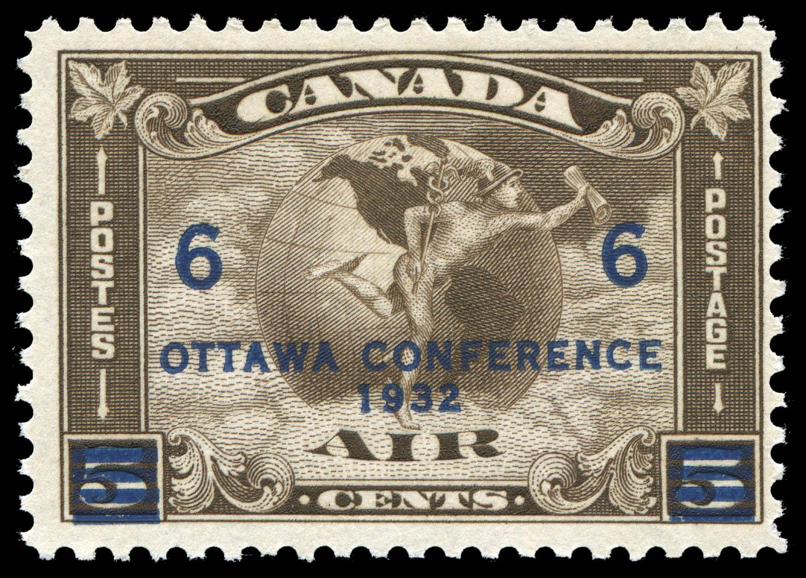Air, Mercury Canada Postage Stamp