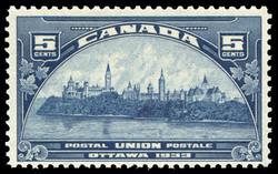 Postal Union, Ottawa, 1933 Canada Postage Stamp