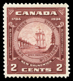 New Brunswick, 1784-1934 Canada Postage Stamp