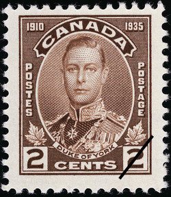 Duke of York Canada Postage Stamp