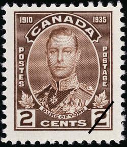 Duke of York Canada Postage Stamp