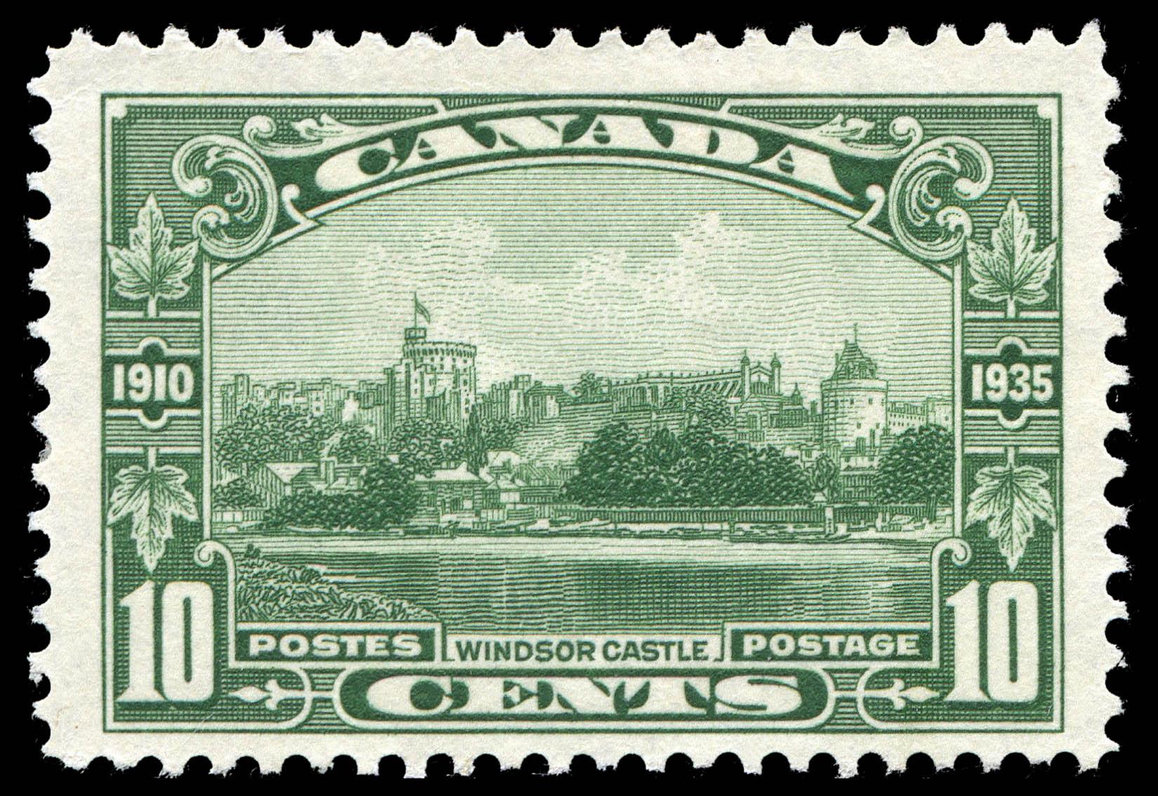Windsor Castle Canada Postage Stamp