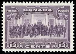 Confederation, Charlottetown, 1864 Canada Postage Stamp
