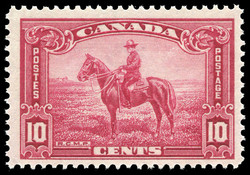 Royal Canadian Mounted Police Constable on horseback Canada Postage Stamp