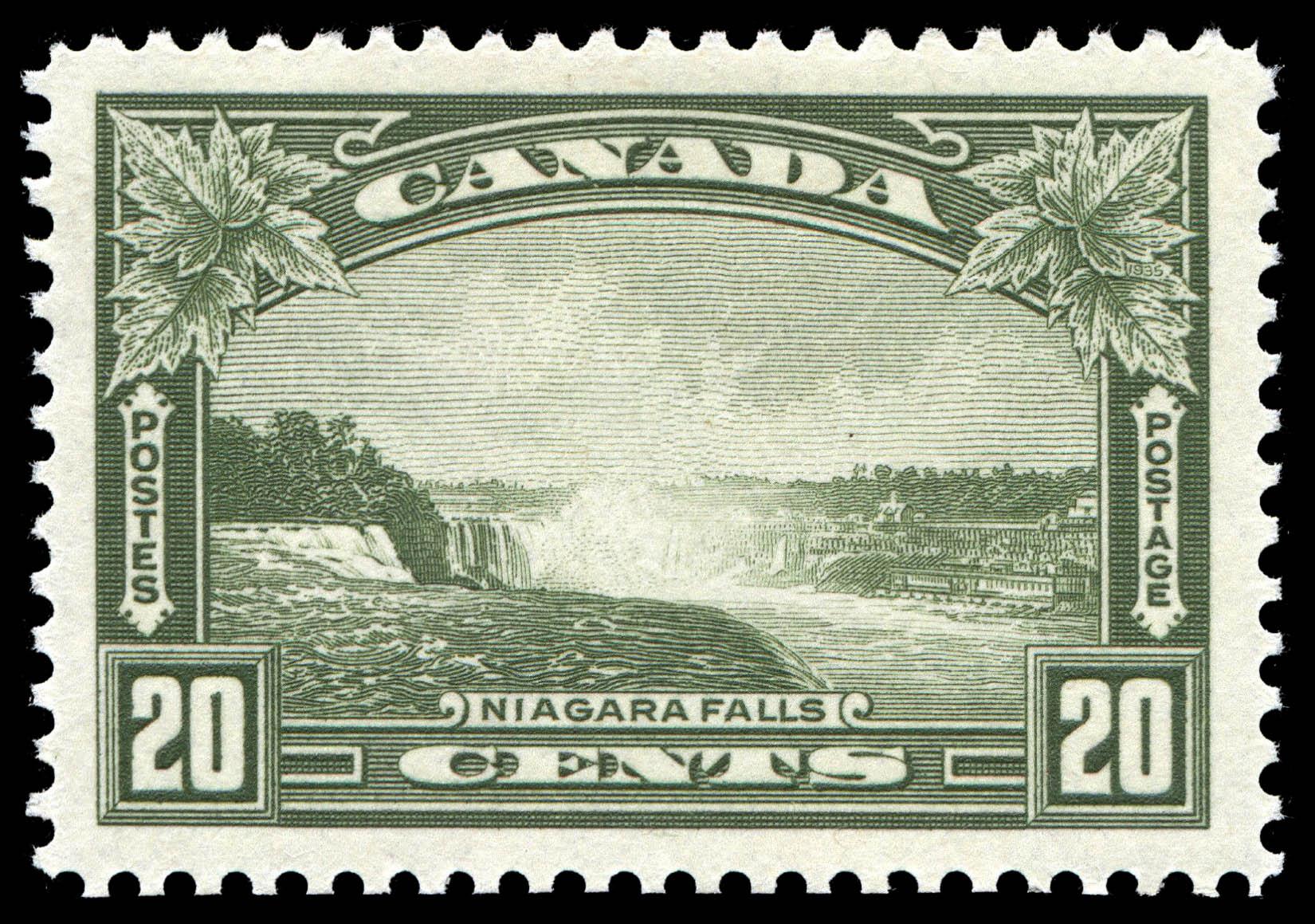 Niagara Falls Canada Postage Stamp