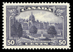 Parliament Buildings, Victoria, B.C. Canada Postage Stamp