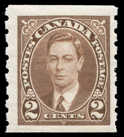King George VI Canada Postage Stamp