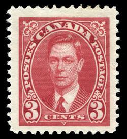 King George VI Canada Postage Stamp