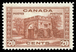Fort Garry Gate, Winnipeg Canada Postage Stamp