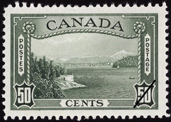 Entrance, Vancouver Harbour Canada Postage Stamp