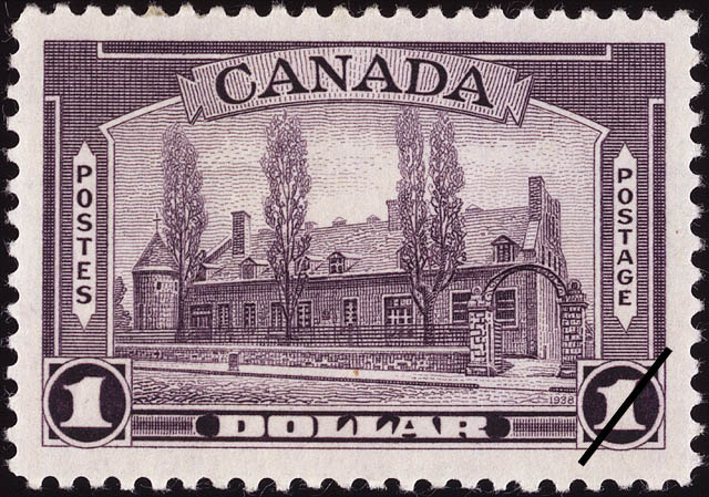 Chateau de Ramezay, Montreal Canada Postage Stamp