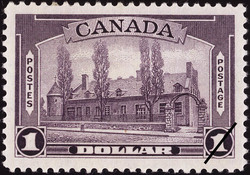 Chateau de Ramezay, Montreal Canada Postage Stamp