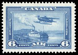 Mackenzie River, Northwest Territories, Air Canada Postage Stamp