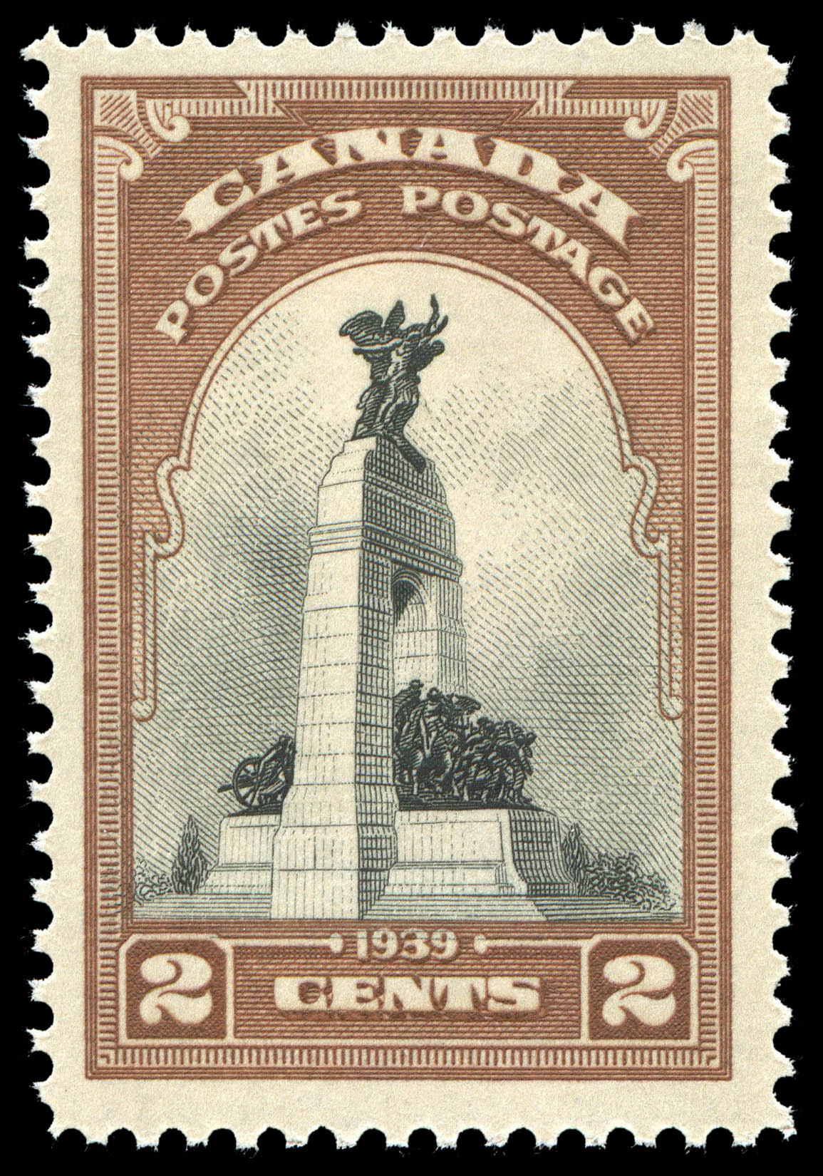 National Memorial, Ottawa Canada Postage Stamp