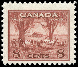 Canadian Farm Scene Canada Postage Stamp