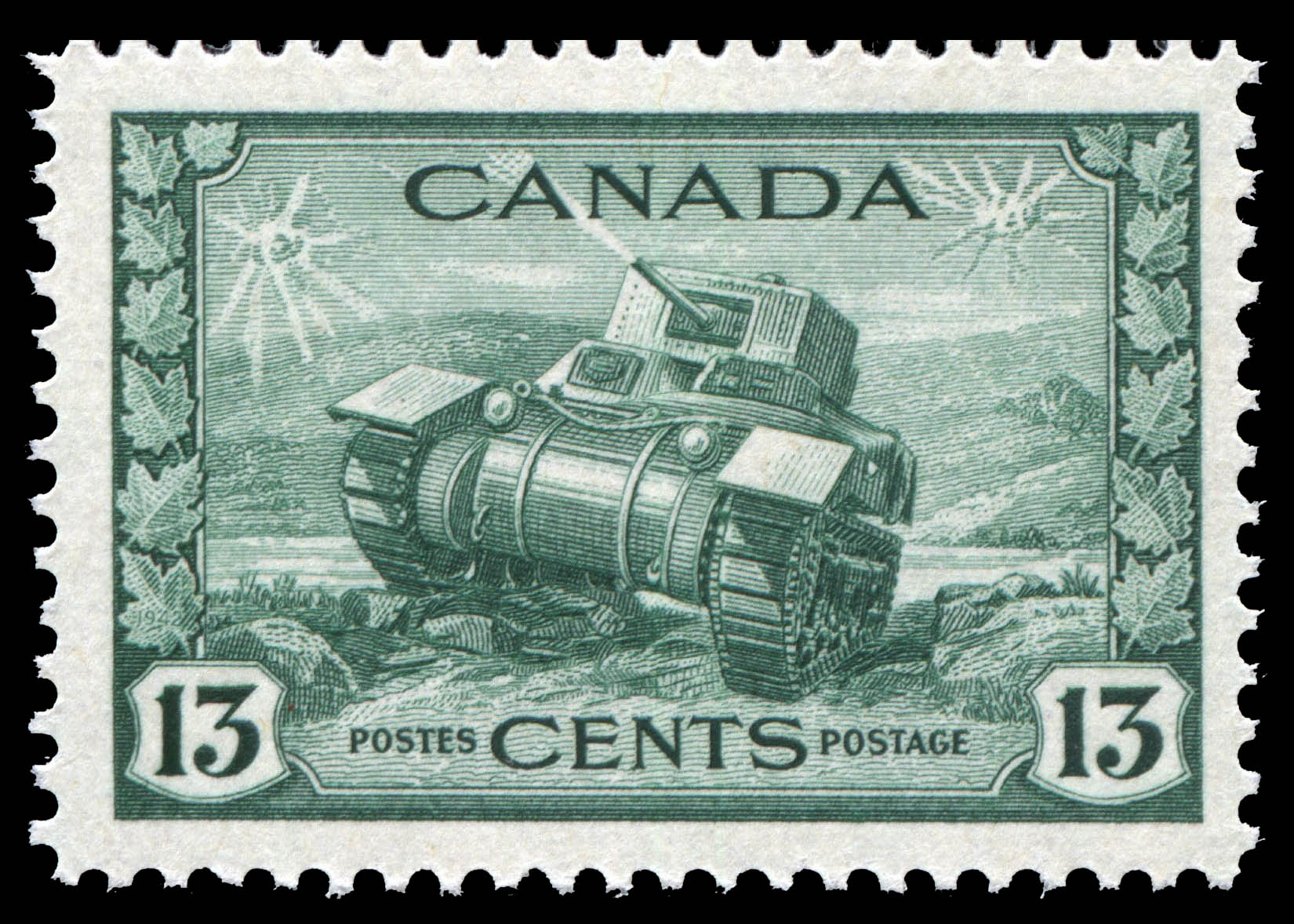 Ram Tank, Canadian Army Canada Postage Stamp