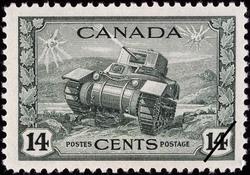 Ram Tank, Canadian Army Canada Postage Stamp