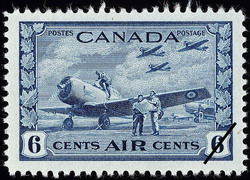 British Commonwealth Air Training Plan, Air Canada Postage Stamp