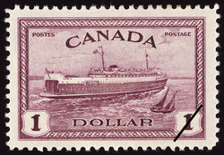 Train Ferry, Prince Edward Island Canada Postage Stamp