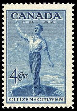 Citizen  Postage Stamp