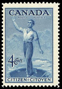 Citizen Canada Postage Stamp