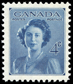 Marriage of H.R.H. Princess Elizabeth Canada Postage Stamp