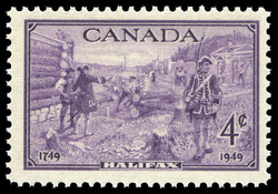 Halifax, 1749-1949 Canada Postage Stamp