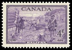 Halifax, 1749-1949 Canada Postage Stamp